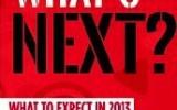 Forecast for 2013